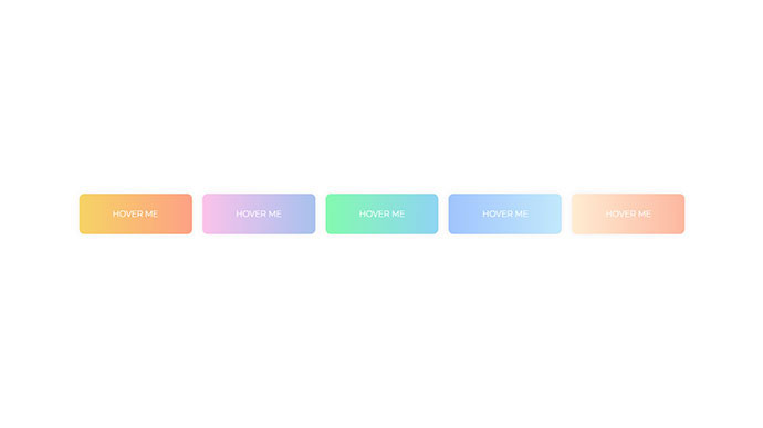 Gradient Buttons with Background-Color Change (CSS-only)