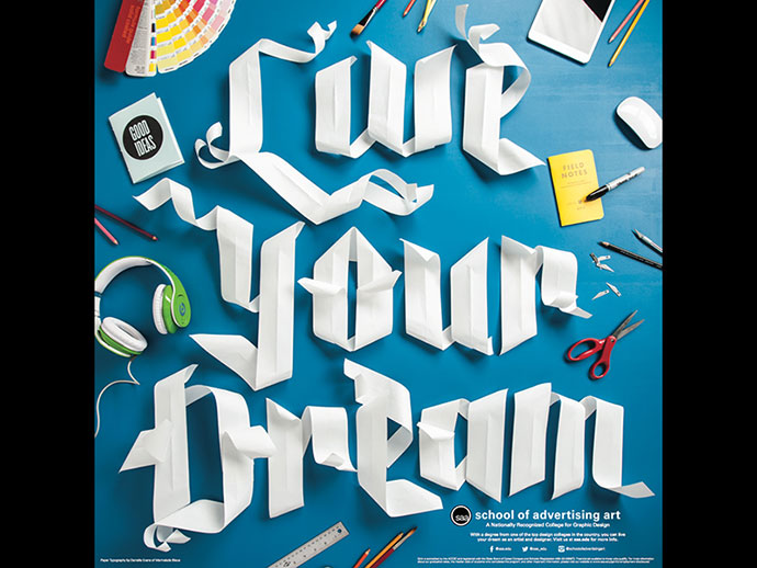 SAA Paper Type Poster