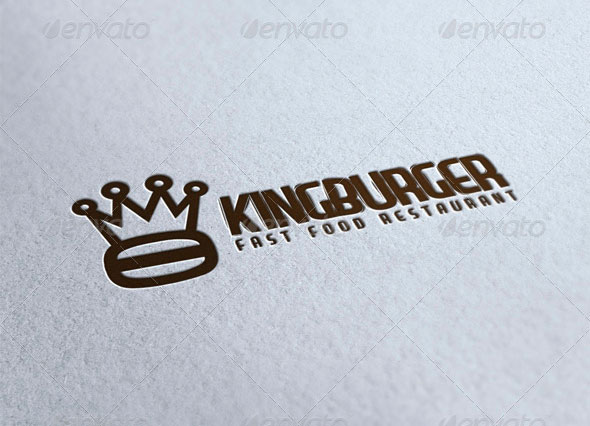 King Burger Logo