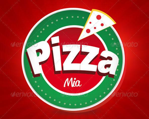Logo Pizza Mia