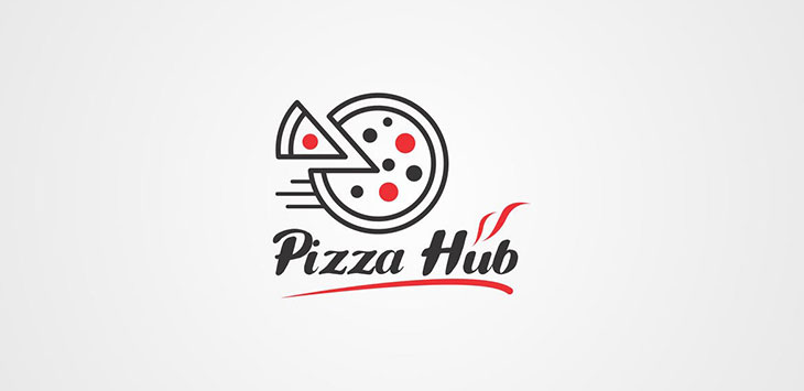 25 Cool Pizza and Burger Logo Templates