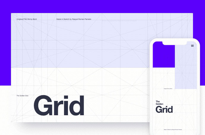 The Golden Grid for Sketch