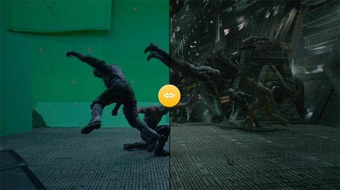 Responsive Image Comparison Slider