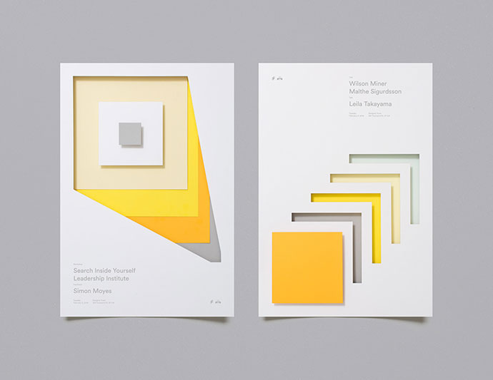 Designer Fund — Bridge Speaker Series Posters