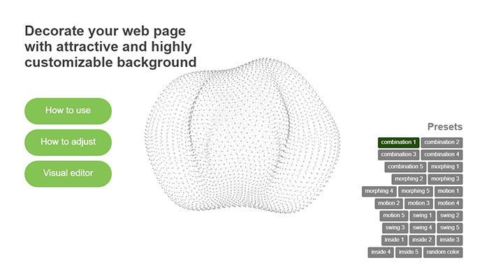 25 Awesome Web Background Animation Effects – Bashooka