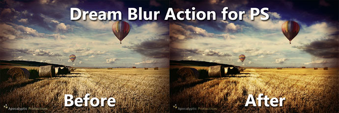 Photoshop Dream Blur Action