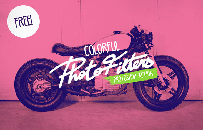 FREE Colorful photoshop filters