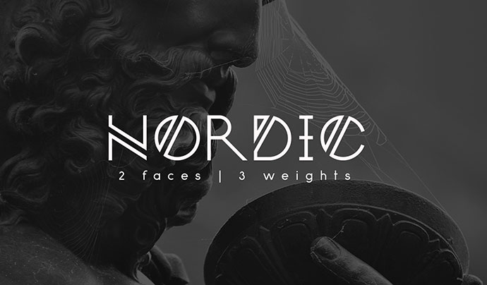Nordic (Free Font)