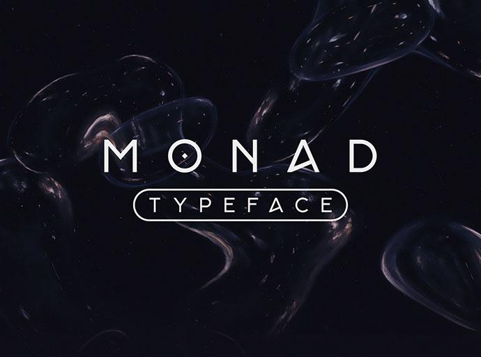 Monad Typeface — Free