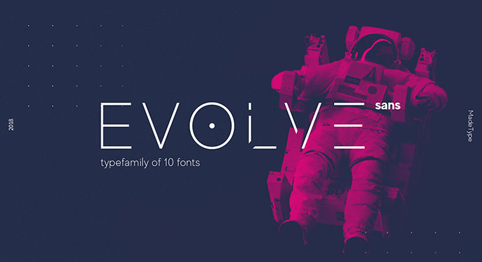 MADE Evolve Sans -Free Font for personal use (Cyrillic)