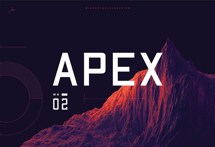 APEX MK2 - FREE GEOMETRIC SANS SERIF