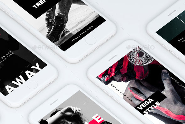 Vega Instagram Stories Templates