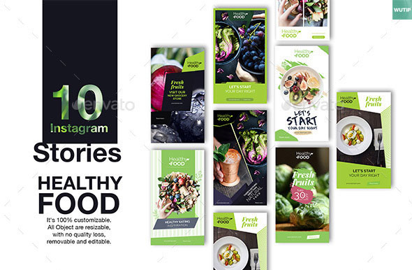 10 Instagram Stories - Healthy Food
