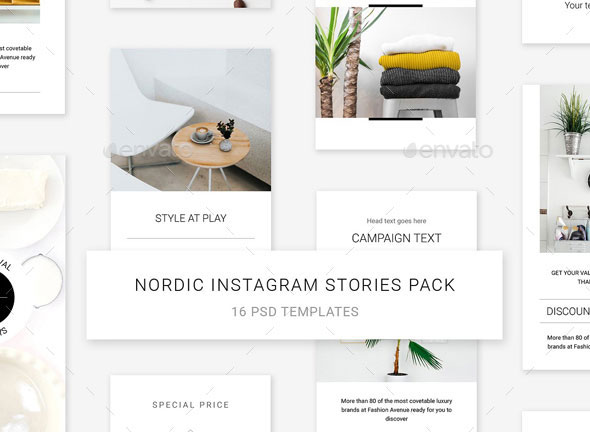 Nordic Instagram Stories Pack