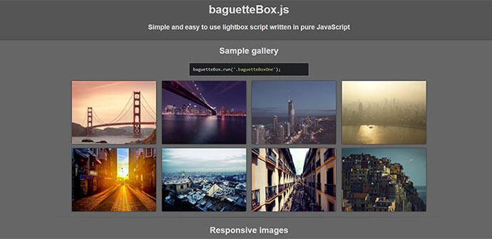 20 Javascript Image Slider & Gallery Plugins For Web