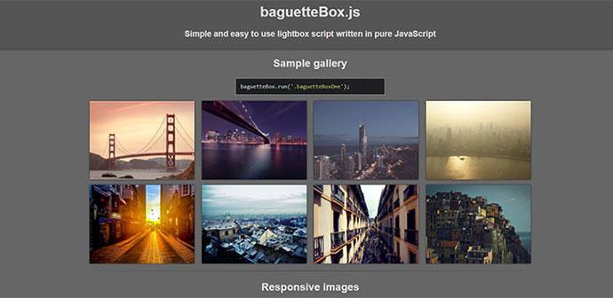 baguetteBox