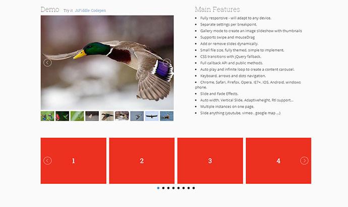 20 Javascript Image Slider & Gallery Plugins For Web