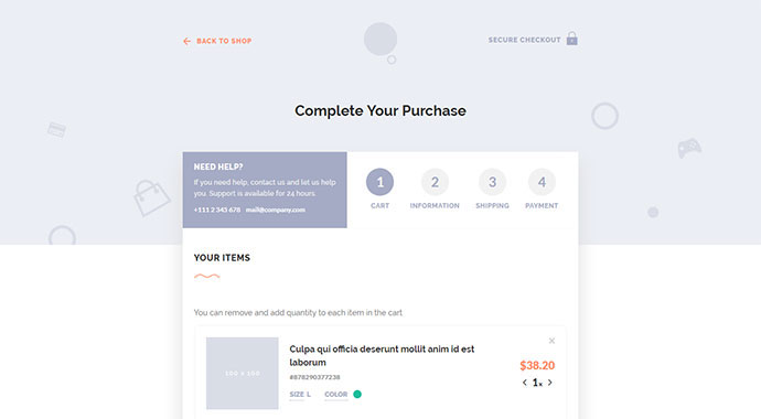 Let`s Checkout - jQuery & HTML5 Checkout Page Template
