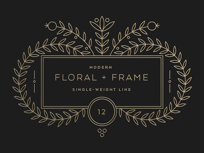 Floral + Frame