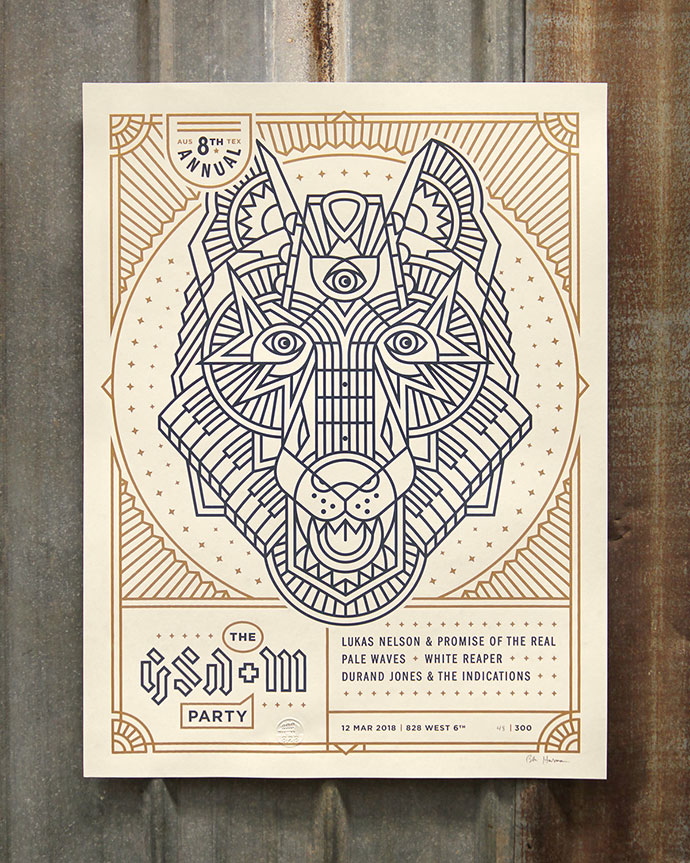 GSD&M SXSW Party Poster Final