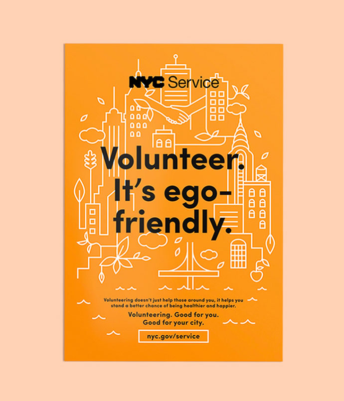 NYC Service Poster Campaign