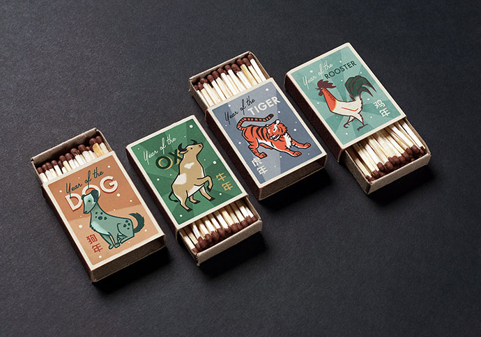 Chinese Zodiac Matchboxes (Part I)
