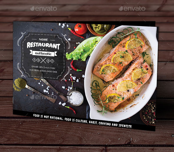 Restaurant Menu Vol 29