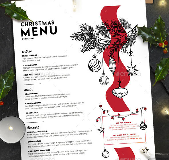 Christmas Menu Vol. 3