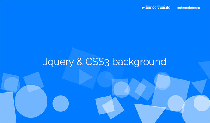 Jquery & CSS3 background