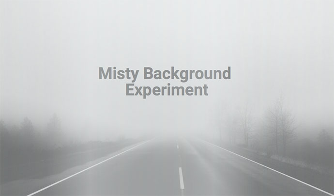 Misty Background