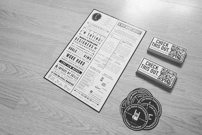 Creative CV & Stickers