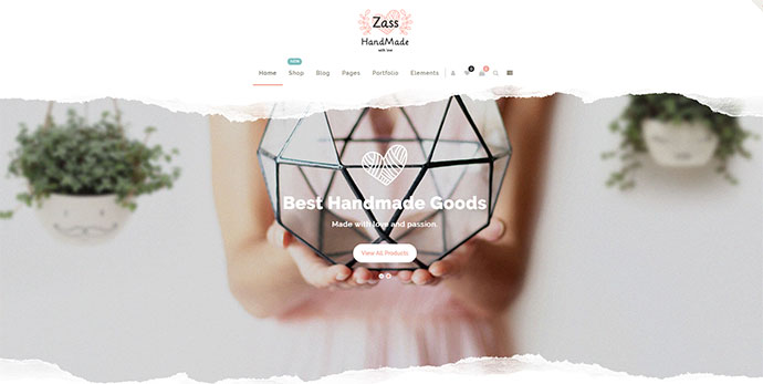 Zass - WooCommerce Theme for Handmade Artists and Artisans