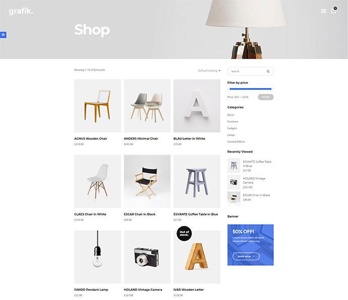 Grafik - Portfolio, Design and Architecture Theme