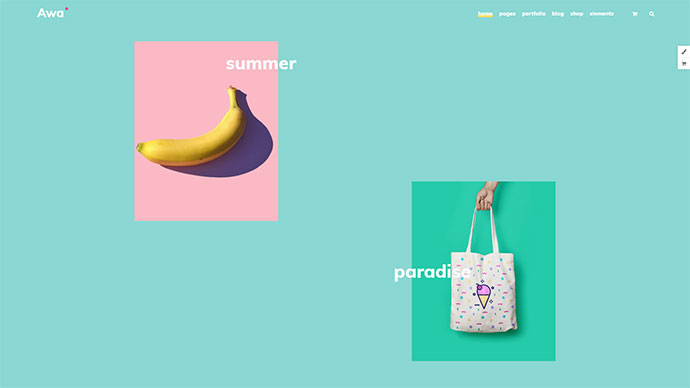 AWA - Portfolio/Agency WordPress Portfolio/Agency