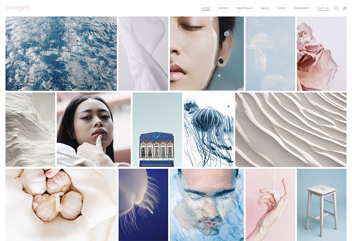 Imogen - An Elegant Theme for Designers and Creative Businesses