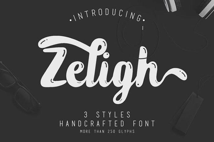 Zeligh Typeface