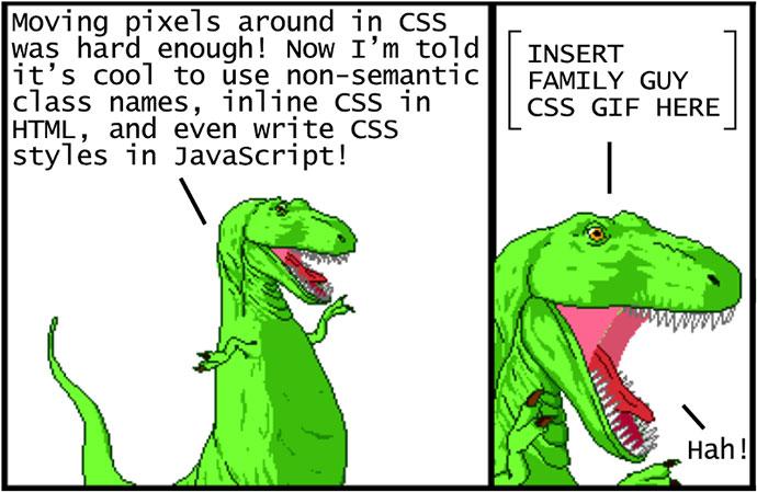 Modern CSS Explained For Dinosaurs