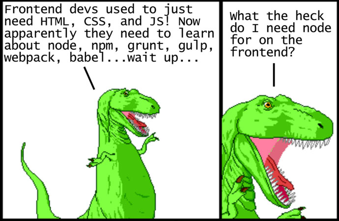 Modern JavaScript Explained For Dinosaurs