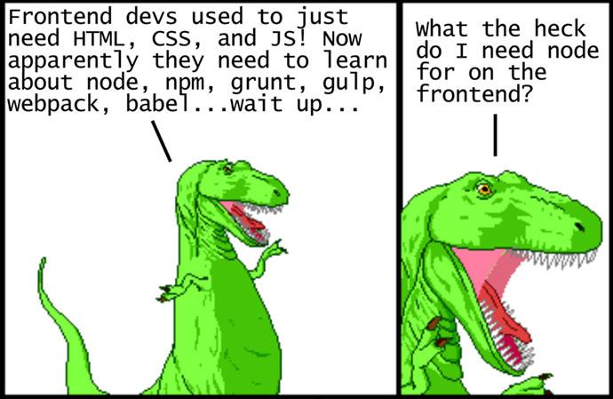 Modern JavaScript Explained For Dinosaurs