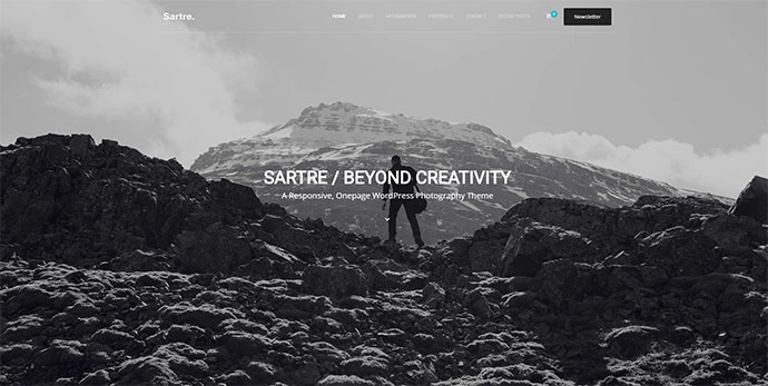 Sartre - Creative Multipurpose WordPress Theme