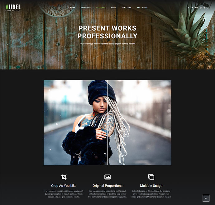 Photography | Aurel Photography WordPress for Photography