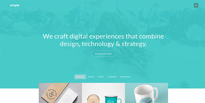 The Simple - Responsive Multi-Purpose Business Theme