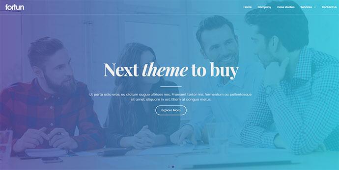Fortun | Multi-Concept WordPress Theme