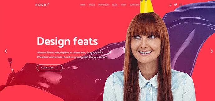 Hoshi - A Modern Theme for Digital Agencies and Freelancers