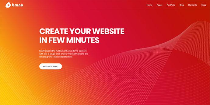 Bruno - Creative Multi Purpose WordPress Theme