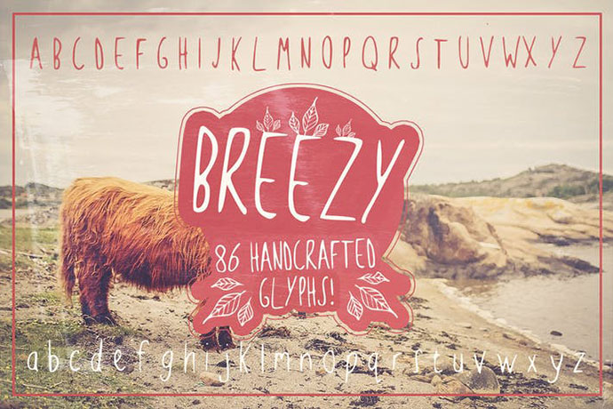 Breezy Handsketched Font