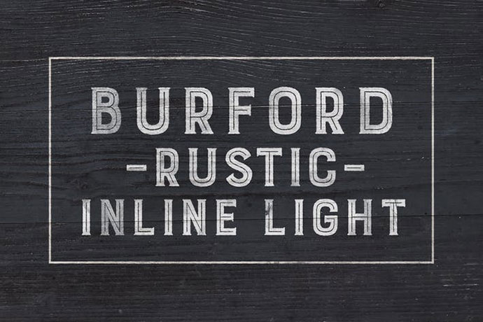Burford Rustic Inline Light