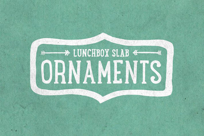 Lunchbox Slab Ornaments