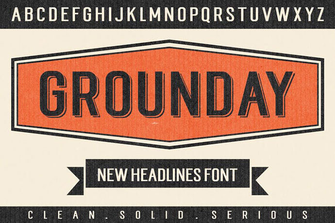 Grounday Typeface