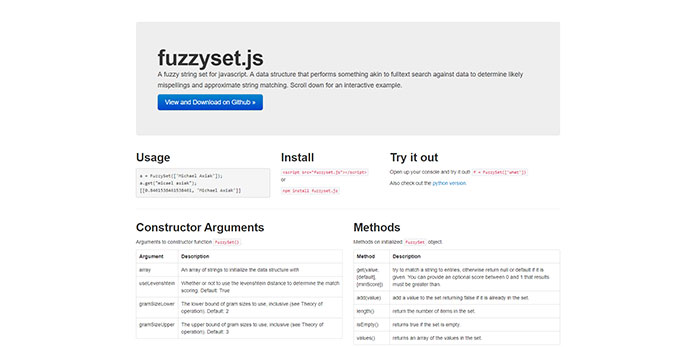 10 Awesome Javascript Fuzzy Search Libraries – Bashooka
